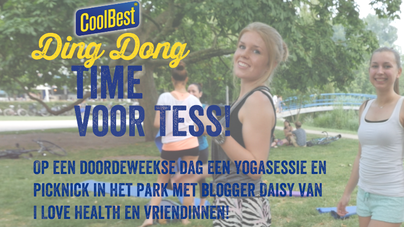 Ding Dong time Yoga sessie, relaxed:)))